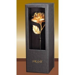 -307- roses ( plastic ), refined with 24k real gold